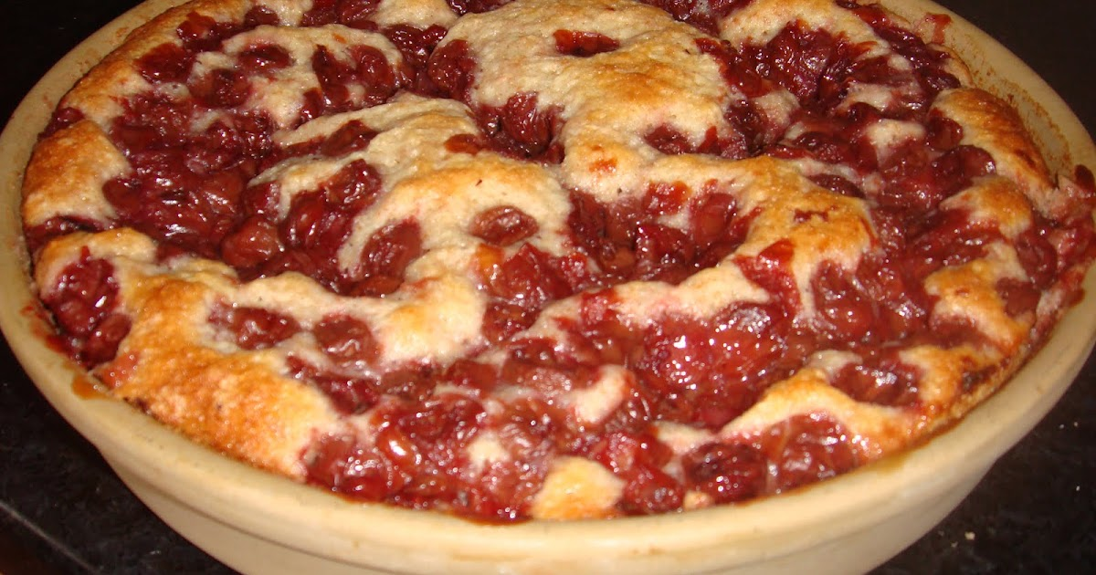 Keeping It Simple: Cherry Cobbler