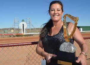 Annette Morrison, trainer of Outback Cup winner Tresette by Darrin Manuel BDT