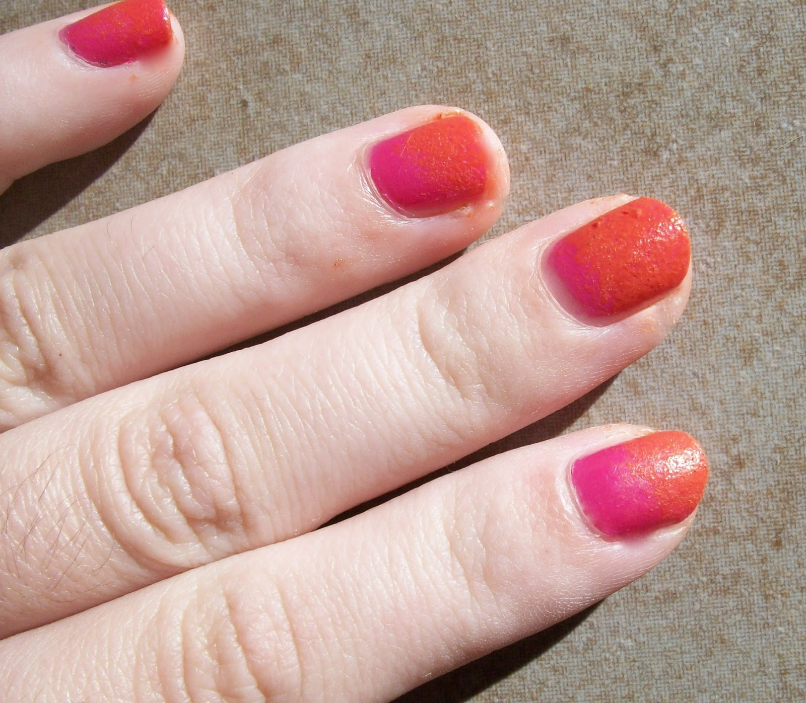 Ombre nails / Get Glam Or Die Trying