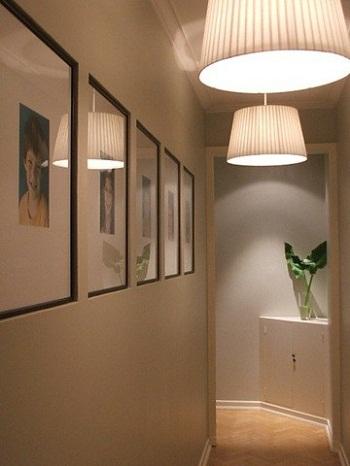 Construindo minha casa clean decora o de corredores - Focos pasillo ...
