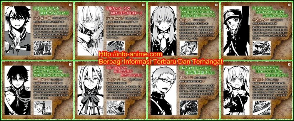 [ Info-Anime ] Key Visual Terbaru Owari No Seraph Diperlihatkan