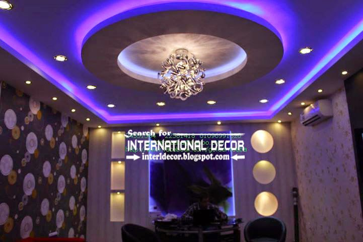 modern suspended ceiling lights for living room ceiling LED lighting ideas