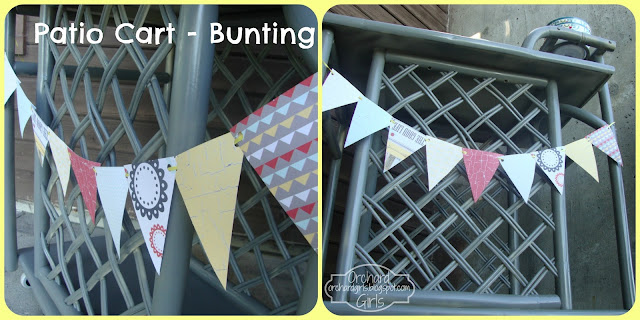 Patio Cart Bunting - orchardgirls.blogspot.com