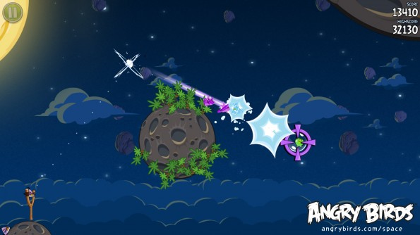 Angry Birds space picture