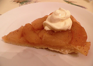 Tarte Tatin, the French upside-down apple pie