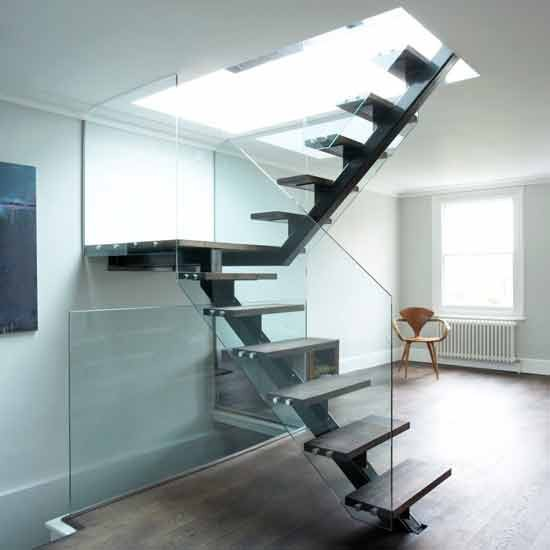 Ideas para cambiar el look a una escalera decoraci n retro - Fotos de escaleras modernas ...