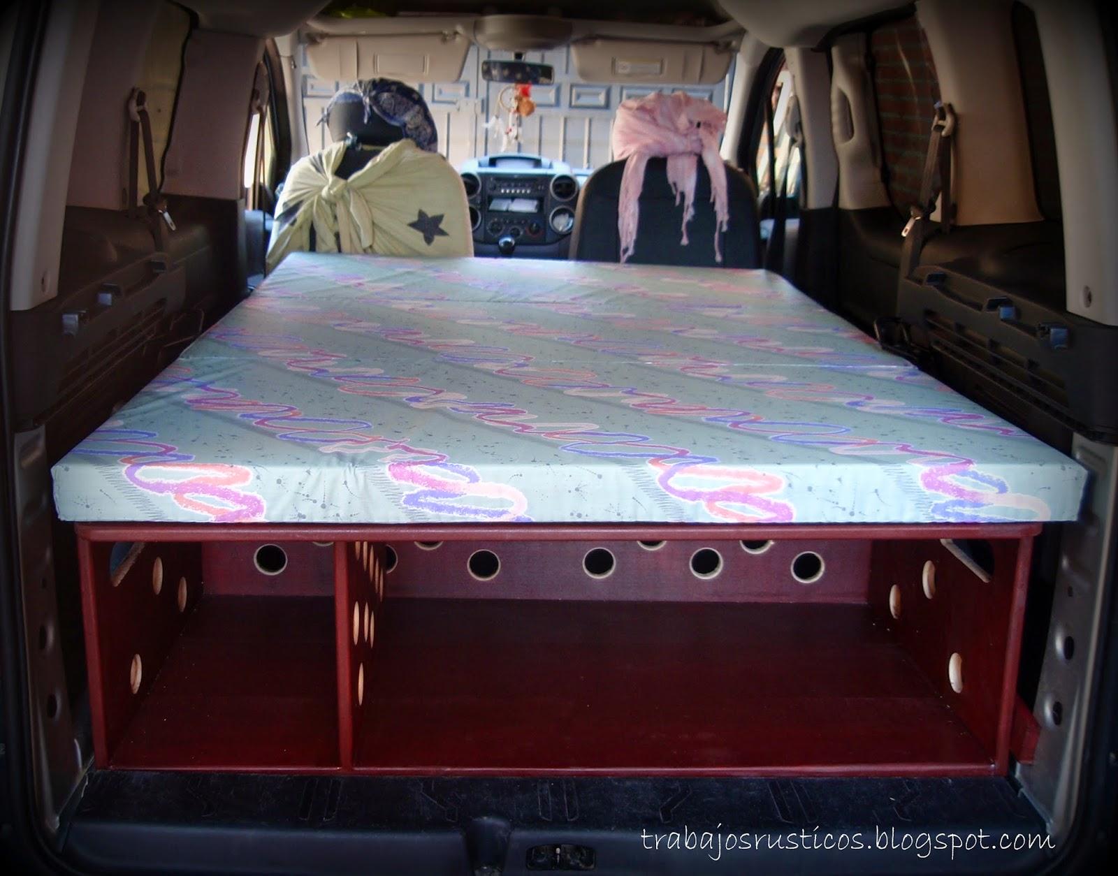 Mueble cama para Peugeot Partner Tepee Camper