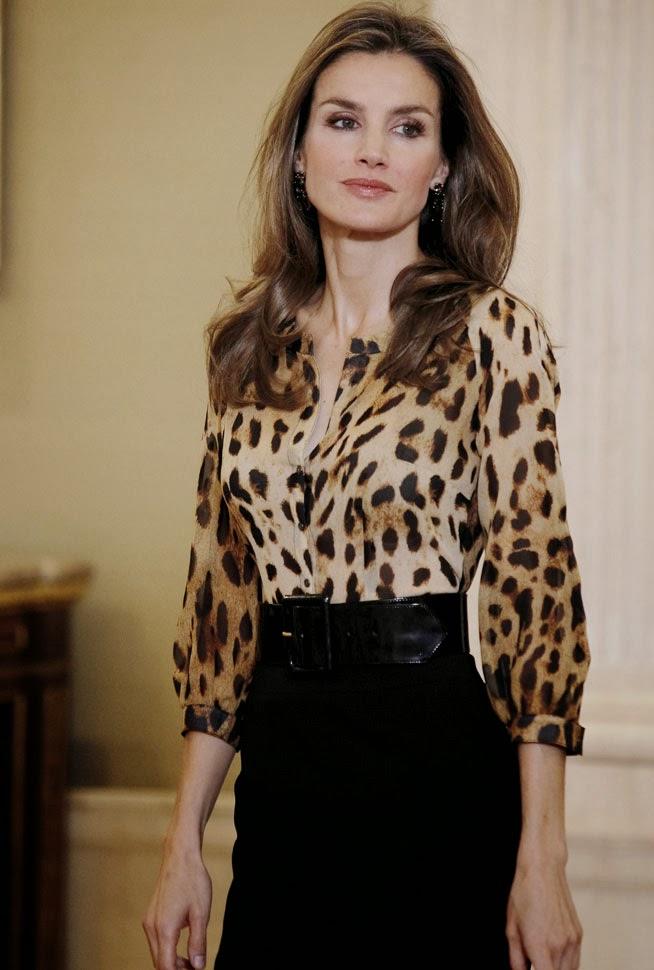 Princesa Letizia Leopardo