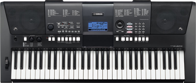 Belajar Keyboard Yamaha Psr E423 Review