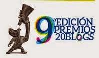 Presencias de Identidad participó de los Premios 20Blogs 2014, en la categoría: Mi ciudad