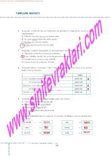 6.Sinif  Turkce Doku Yayinlari Ogrenci Calisma Kitabi Sayfa 34