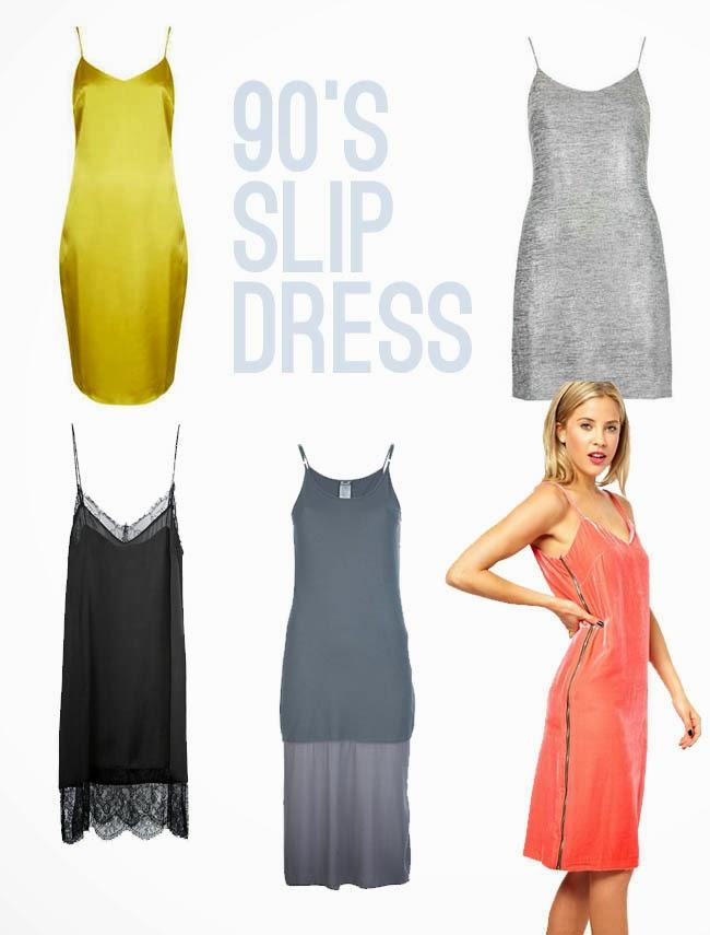 90's slip dress - minimalism