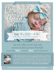 Caring For Cordelia Benefit...Join us SEPTEMBER 30, 2012 From 4-8!