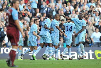 Manchester City 4 - 1 Aston Villa (2)