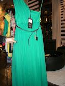 Πρασινο σιφον φορεμα cocteil