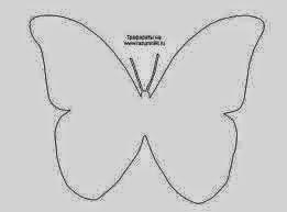 molde borboletas