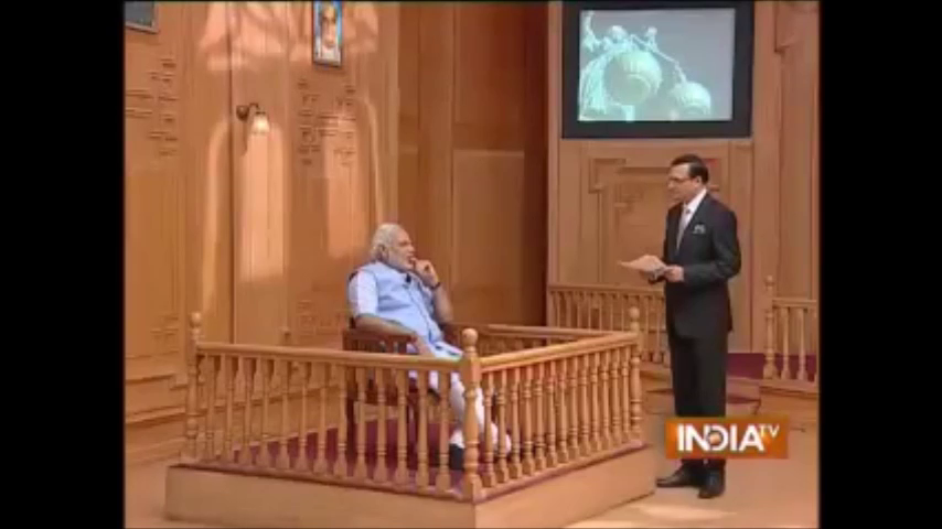 Narendra Modi in Aapki Adalat April 2014