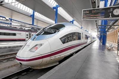 AVE hogesnelheidstrein Spanje