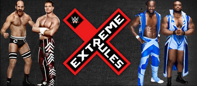 Cesaro junto con Tyson Kidd se enfrentan a The New Day en el mejor espectaculo de todos