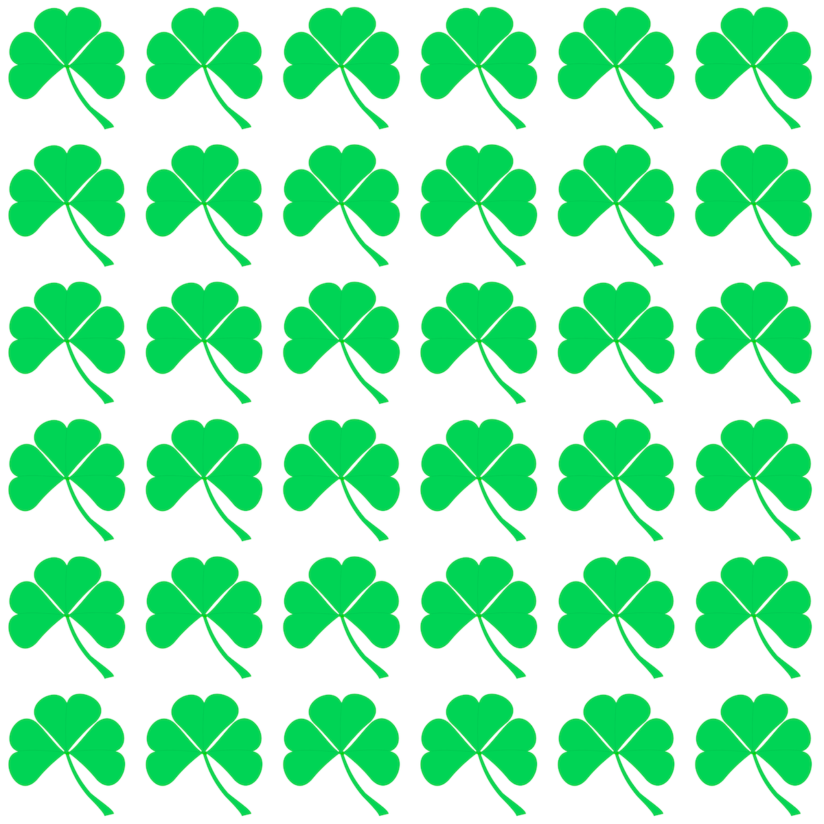 Free digital shamrock scrapbooking paper and templates - Kleeblatt ...
