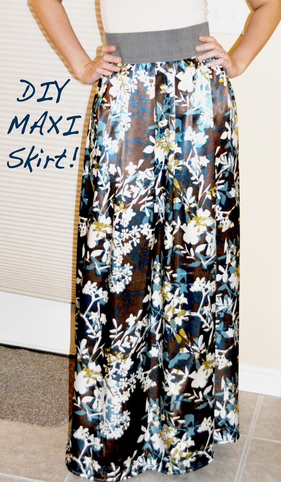 individual rivalry it s here diy maxi skirt tutorial
