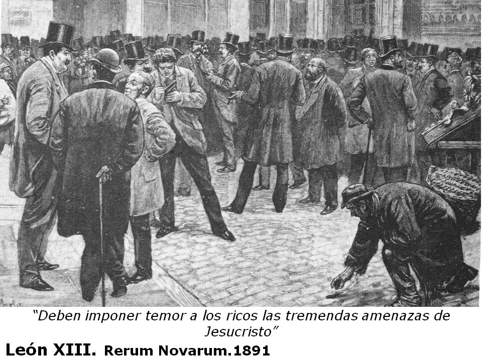 rerum novarum En the first paragraph of the encyclical describes in strong terms the new things (rerum novarum) which gave it its name: that the spirit of revolutionary change which has long been disturbing the nations of the world should have passed beyond the sphere of politics and made its influence felt in the related sphere of practical economics is not surprising.