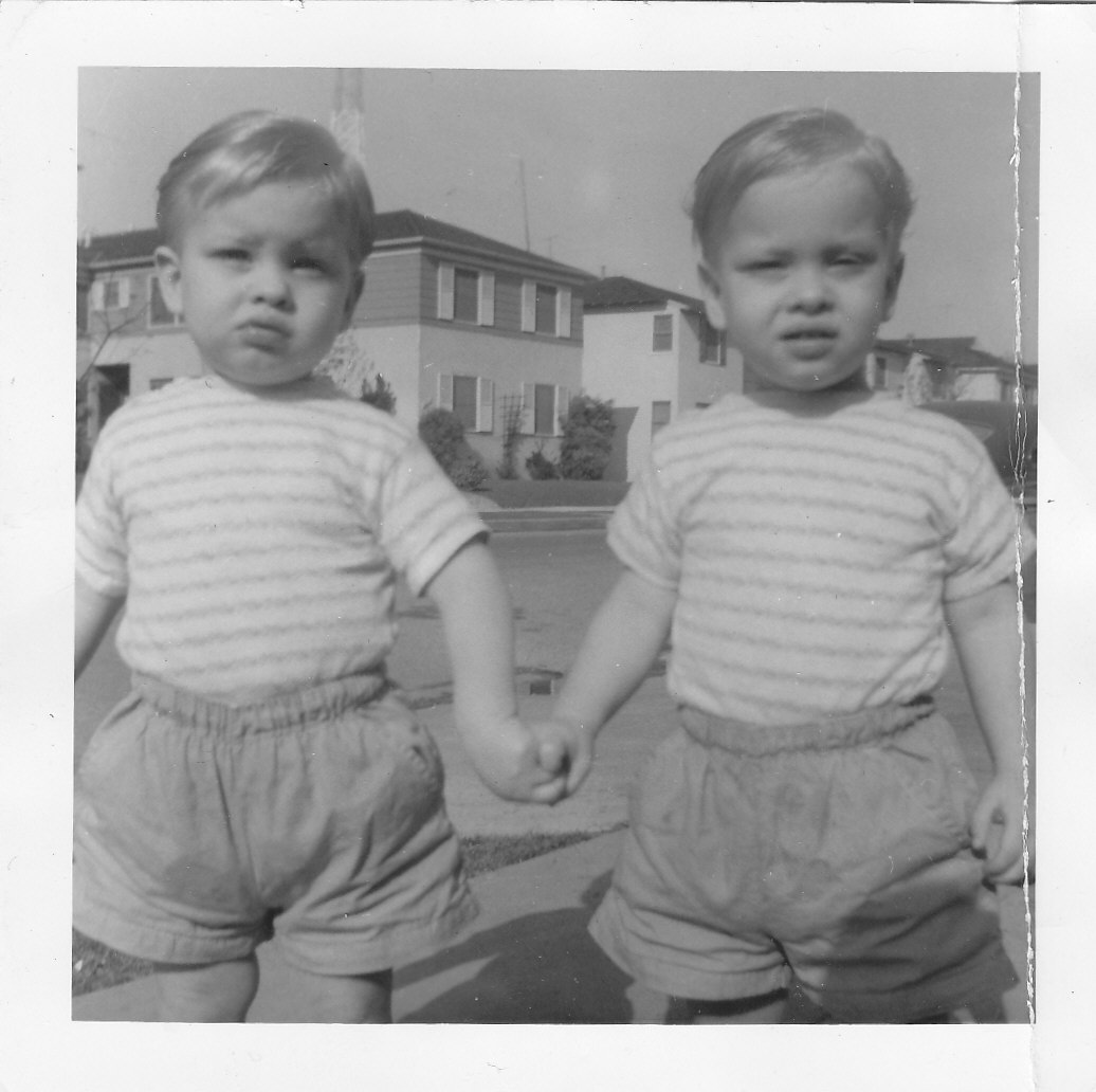 What are interesting male twins 58