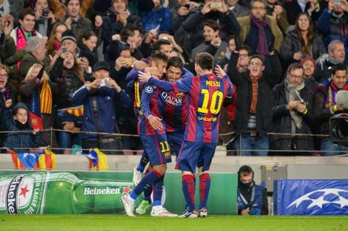 FC Barcelone 3-1 PSG