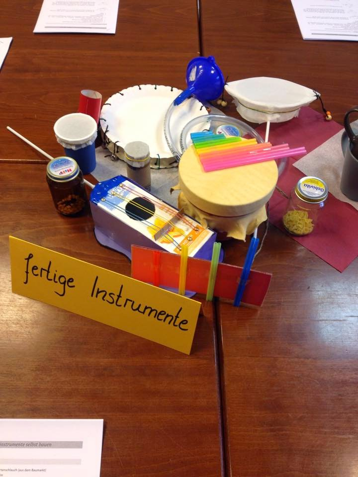 musikinstrumente selber bauen kindergarten