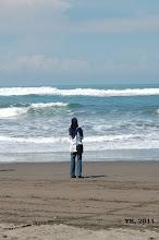 Horizon of Parang Tritis, Yogyakarta