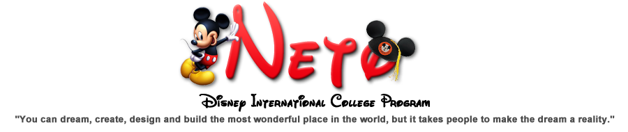 Neto - Disney International College Program