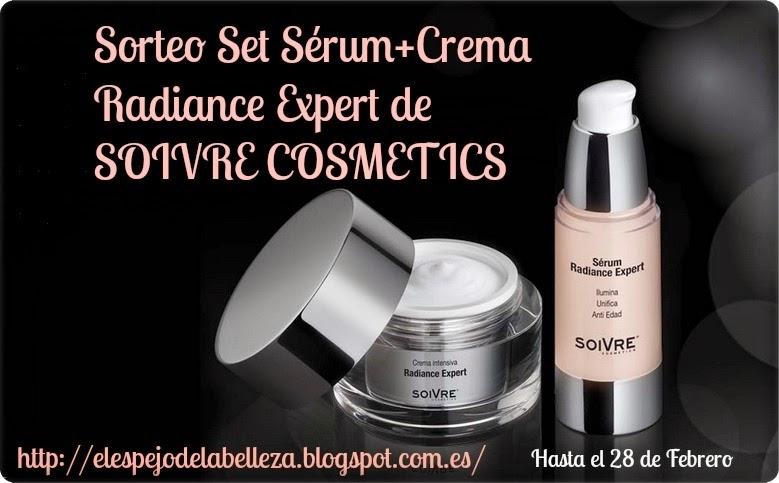 ¡Sorteo Radiance Expert con Soivre Cosmetics!.
