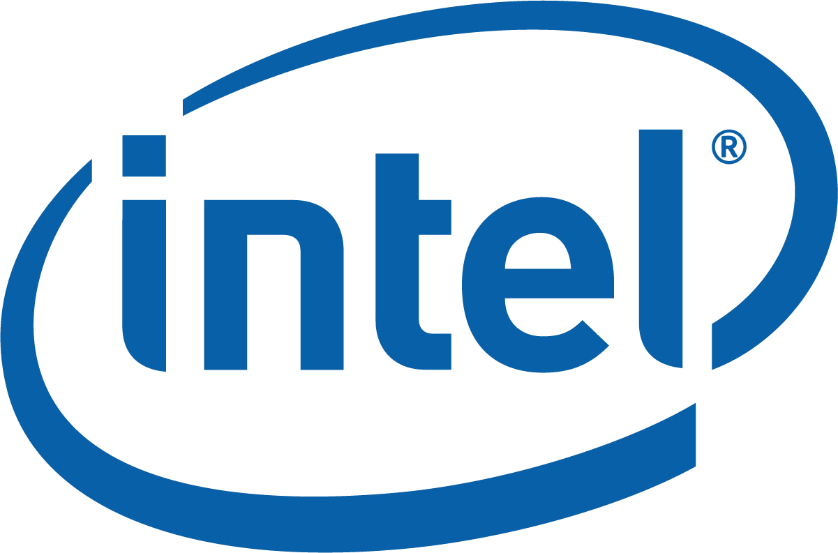 Intel, logo, 2015, an American chip producer