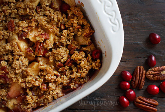 Apple Cranberry Crumble | Skinnytaste