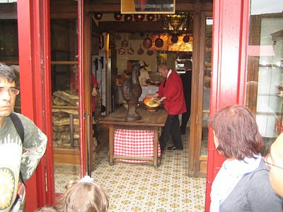 Haciendo tortillas en el Mont Saint Michel