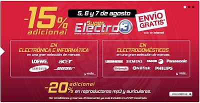 super electro 3 corte ingles 5-8-13