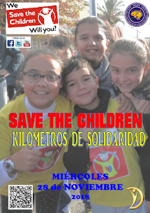 "CARRERA SOLIDARIA ""SAVE THE CHILDREN"""