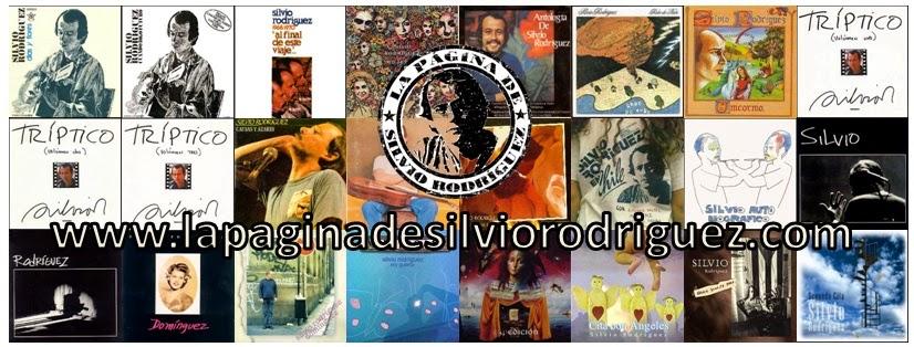 La página de Silvio Rodríguez