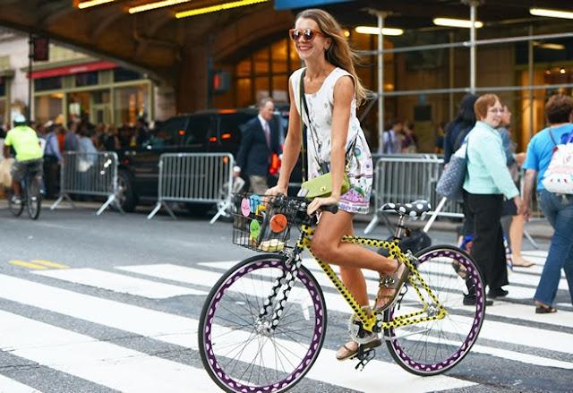 модный велосипед