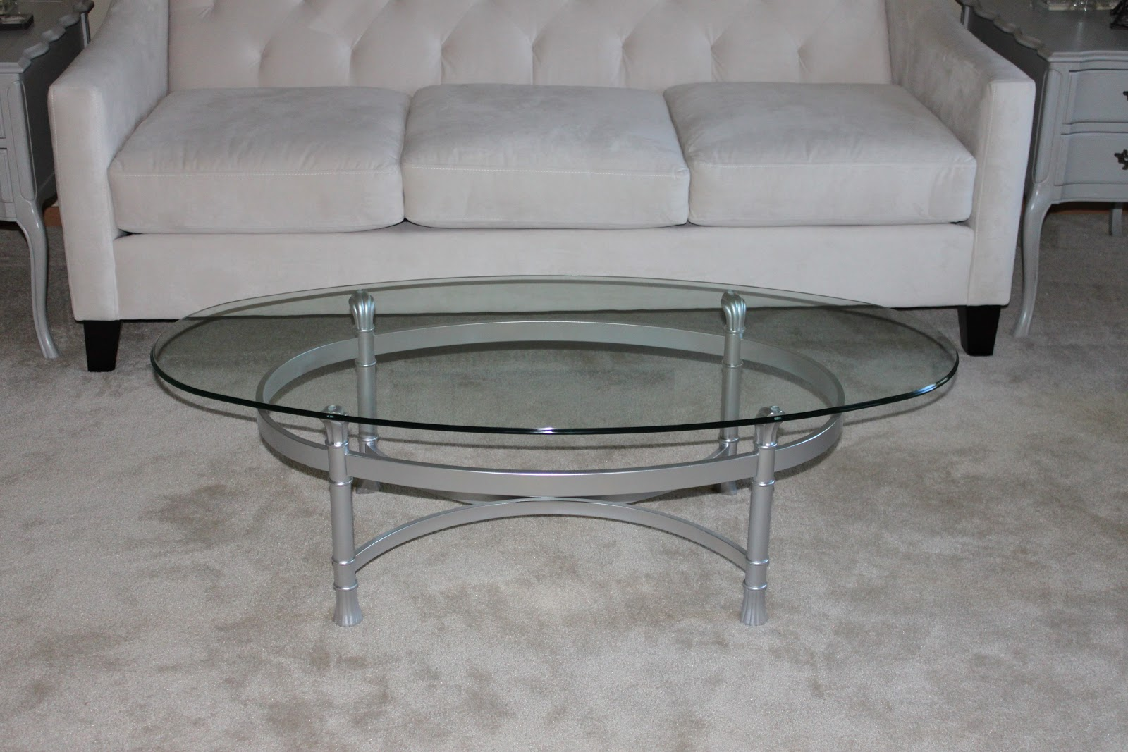 Diy Glass Top Coffee Tables Diy: coffee table makeover at