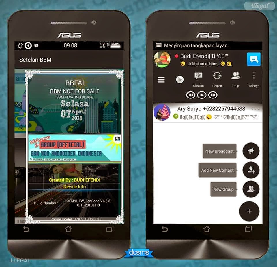BBM mod FLOATING MINI v2.7.0.23 Apk