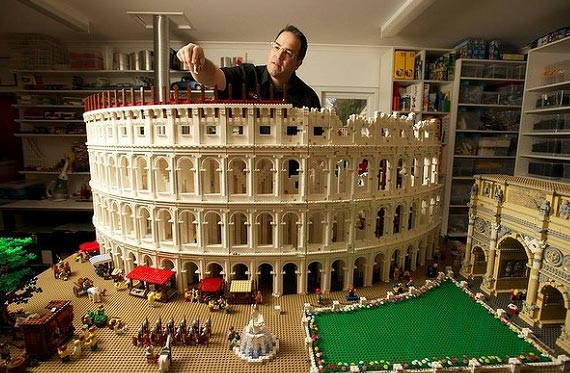 The Lego Colosseum ~ Roman News and Archeology