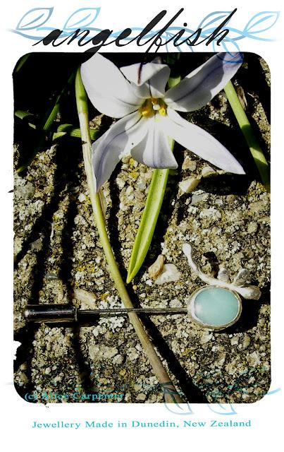 'Angelfish' Jewellery, by Alice Carpenter, Dunedin, New Zealand.