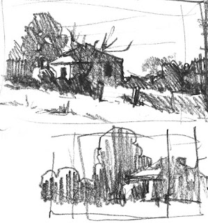 Plein air thumbnail by Andy Dolphin