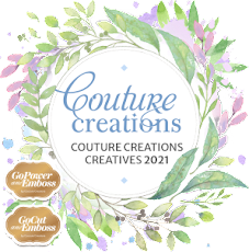 I AM ON THE COUTURE CREATIONS CREATIVE TEAM