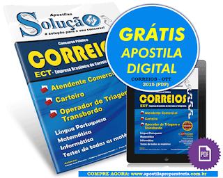 Apostila dos CORREIOS OTT 2015 - Operador de Triagem e Transbordo (Grátis digital)