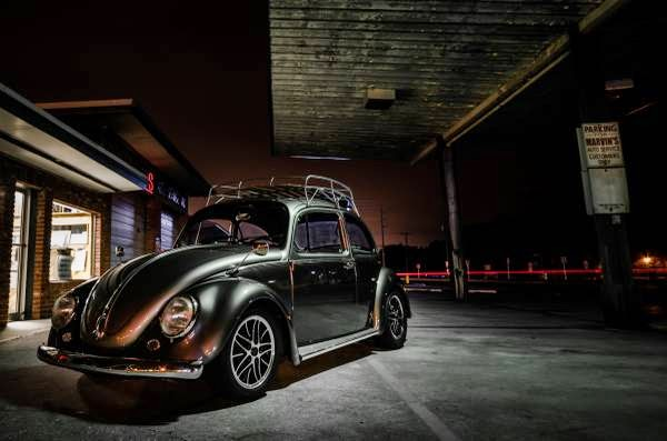 custom vw beetle ragtop porsche powered
