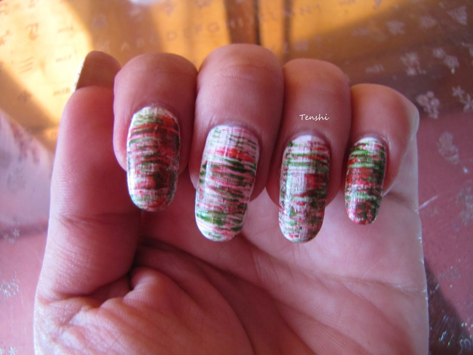 Nails by Tenshi: Mexicano abstracto