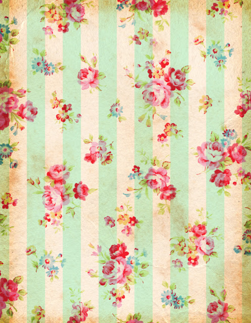 ... , retro o shabby? Flores!!! / Vintage, retro or shabby? Flowers