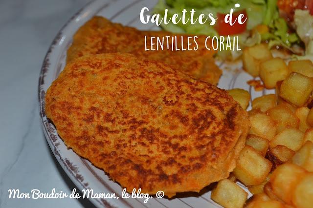 Blog sur le quotidien d 39 une maman mais pas que galettes de lentilles corail sans gluten vegan - Comment cuisiner les lentilles corail ...